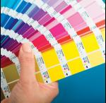 PMS pantone kleurenwaaier